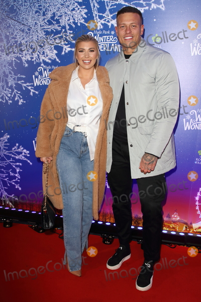 Olivia Buckland Photo - London UK Olivia Buckland and Alex Bowen  at Winter Wonderland 2019 VIP Launch at Hyde Park London on November 20th 2019Ref LMK73-J5836-211119Keith MayhewLandmark MediaWWWLMKMEDIACOM