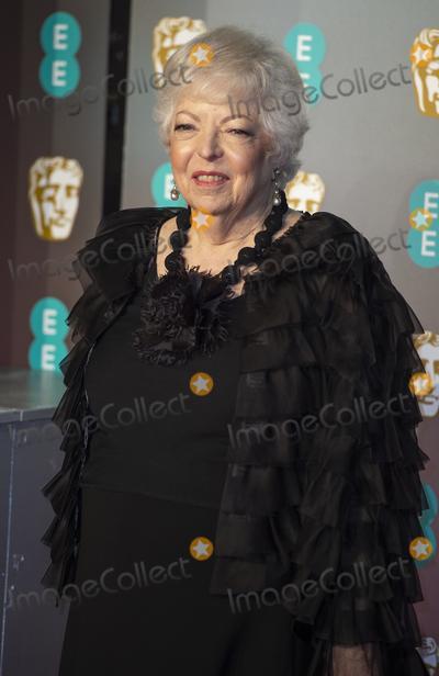 Thelma Schoonmaker Photo - London UK  Thelma Schoonmaker    at EE British Academy Film Awards at the Royal Albert Hall Kensington London on Sunday February 10th 2019Ref LMK386-S2120-120219Gary MitchellLandmark Media WWWLMKMEDIACOM