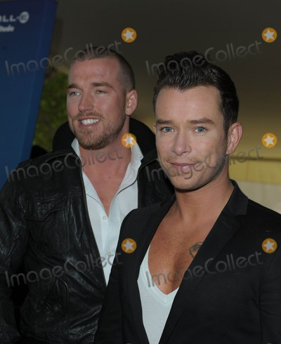 Andrew Cowles Photo - London UK Andrew Cowles and Stephen Gately  arriving at at the UK premiere of Disney Pixars UP at the BFI 4th October 2009Ali KadinskyLandmark Media
