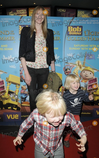 Jill Halfpenny Photo - London UK Jill Halfpenny and Sons at the Bob The Builder Legend of the Golden Hammer premiere held at the West End Cinema 15th May 2010Can NguyenLandmark Media