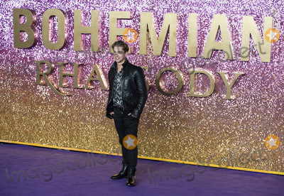AJ Pritchard Photo - London UK  AJ Pritchard at  the World Premiere of Bohemian Rhapsody at SSE Arena Wembley on October 23 2018 in London EnglandRef LMK386-J2845-241018Gary MitchellLandmark MediaWWWLMKMEDIACOM