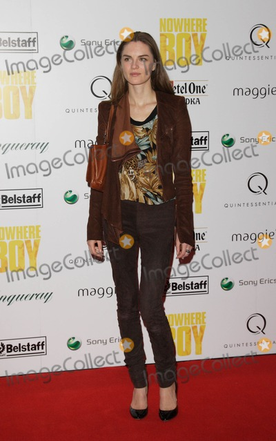 Anouck Lepere Photo - London UK  Anouck Lepere at the charity screening of the film Nowhere Boy held at BAFTA in Piccadilly26 November 2009          Keith MayhewLandmark Media