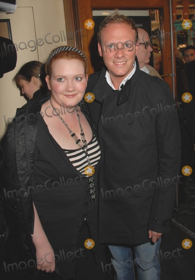 Anthony Cotton Photo - London UK  Coronation Street stars Jenny McAlpine and Anthony Cotton   at the opening night of Smaller at the new venue of the Lyric Theatre London Henrys wife is the star of the play which she also co-wrote 4th April 2006 SydLandmark Media