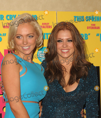 Aisleyne Horgan-Wallace Photo - London UK Aisleyne Horgan-Wallace and Bianca Gascoigne at the Anuvahood film premiere at the Empire Leicester Square in London 15th Match 2011SydLandmark Media