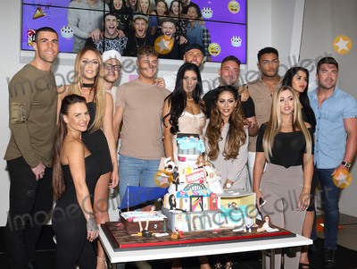 Aaron Chalmers Photo - London UK Charlotte Crosby Holly Hagan Chloe Etherington Chantelle Connelly Marnie SimpsonSophie Kasaei Aaron Chalmers Nathan Henry Scott Timlin Marty McKenna James Tindale and Dan Thomas-Tuck at Geordie Shore 5th Birthday celebrations at MTV London on Tuesday 24 May 2016Ref LMK73 -60244-250516Keith MayhewLandmark Media WWWLMKMEDIACOM