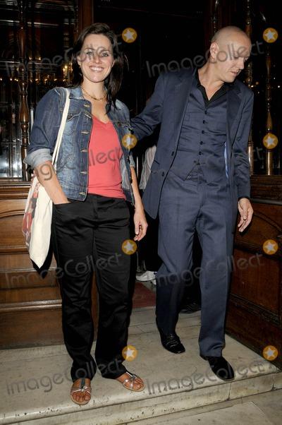 Jill Halfpenny Photo - London UK Jill Halfpenny and Partner at the Calendar Girls new cast opening night held at Noel Coward theatre in London 28th July 2009Can NguyenLandmark Media