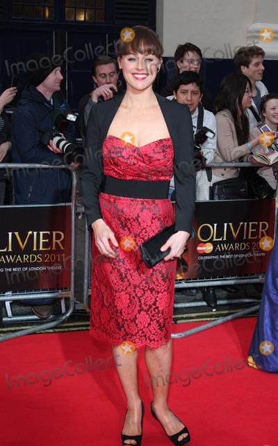 Jill Halfpenny Photo - London UK Jill Halfpenny at The Olivier Awards at the Theatre Royal Drury Lane 13th March 2011Keith MayhewLandmark Media