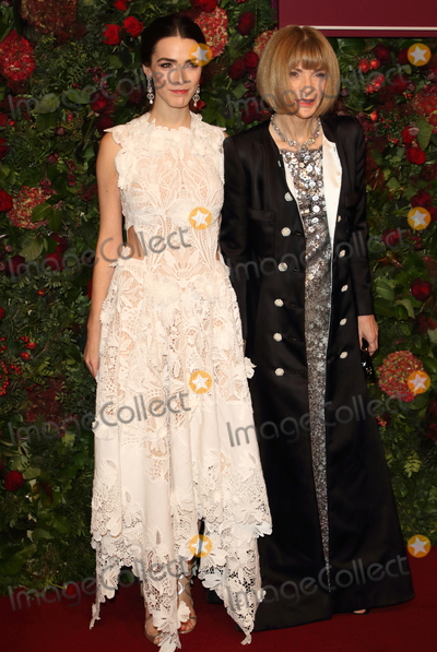 Anna Wintour Photo - London UK Bee Shaffer and Anna Wintour at the 65th Evening Standard Theatre Awards London Coliseum London England on the 24th  November 2019Ref LMK73-S2621-251119Keith MayhewLandmark MediaWWWLMKMEDIACOM