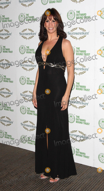 The Bee GEES Photo - London UK Andrea McLean    at The Outward Bound Trust present A Night with Robin Gibb and the music of the BeeGees at Battersea Evolution 9th January 2009 Keith MayhewLandmark Media