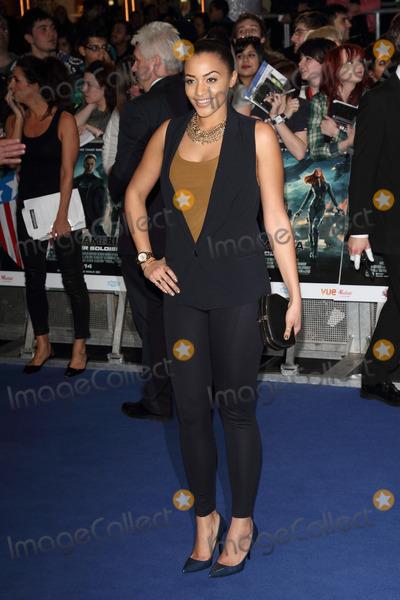 Amal Fashanu Photo - London UK Amal Fashanu at Captain America - the Winter Soldier UK Premiere at Westfield Shopping Centre London March 20th 2014Ref LMK73-47922-210314Keith MayhewLandmark Media WWWLMKMEDIACOM