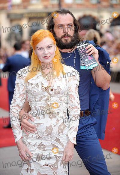 Andreas Kronthaler Photo - London UK Vivienne Westwood and Andreas Kronthaler at the World Premiere of Sex and the City The Movie Odeon Leicester Square London 12 May 2008Eric BestLandmark Media