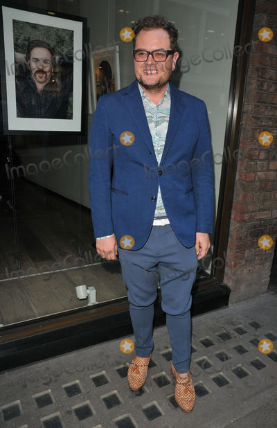 Alan Carr Photo - Alan Carr at the Sir Hubert Von Herkomer Arts Foundation 2017 exhibition private view Alon Zakaim Gallery Dover Street London England UK on Wednesday 05 April 2017