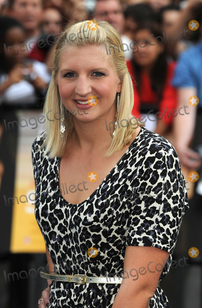 Angellica Bell Photo - London UK   British and Olympic medal winning swimmer Rebecca AdlingtonAngellica Bell at the UK premiere of the film Salt held at the Empire Cinema in Leicester Square16th  August 2010SYDLandmark Media