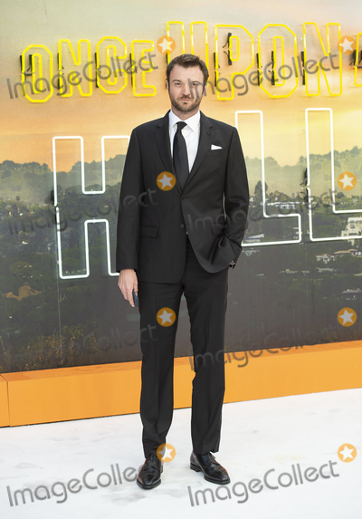 Costa Ronin Photo - London UK  Costa Ronin   at  the UK Premiere of Once Upon a Time in Hollywood Odeon Luxe Leicester Square RefLMK386-S2690-300719Gary MitchellLandmark Media WWWLMKMEDIACOM