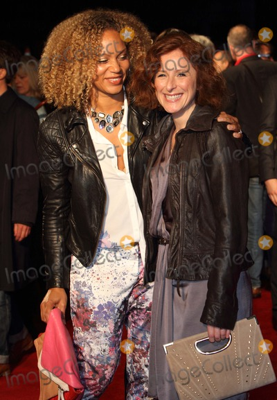 Angela Griffin Photo - London UK  Angela Griffin (L) and guest  at the BFI London Film Festival screening of Spike Island  Odeon West End London  11th October 2012  Keith MayhewLandmark Media