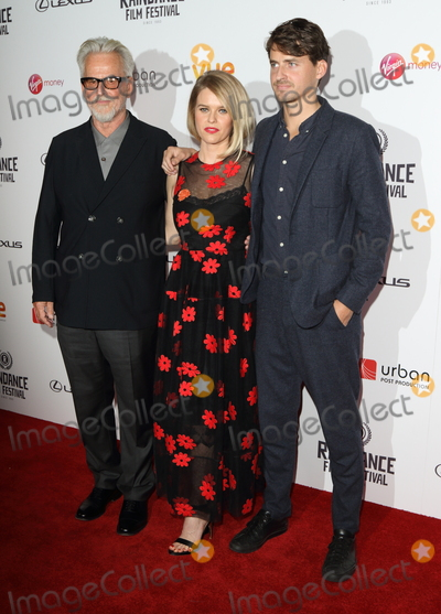Alice Eve Photo - London UK 230917Trevor Eve Alice Eve and Jack Eve at the Raindance Film Festival Bees Make Honey UK Premiere held at the Vue West End Leicester Square23 September 2017Ref LMK88-MB1009-240917Keith Mayhew  Landmark MediaWWWLMKMEDIACOM