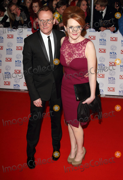 Antony Cotton Photo - London UK Antony Cotton and Jenni McAlpine at the National Television Awards at the O2 Arena 23rd January 2013Keith MayhewLandmark Media