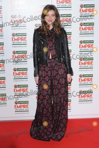 Antonia Clark Photo - London UK  Antonia Clarke   at the Jameson Empire Film Awards Grosvenor House London 24th March 2013 Landmark Media