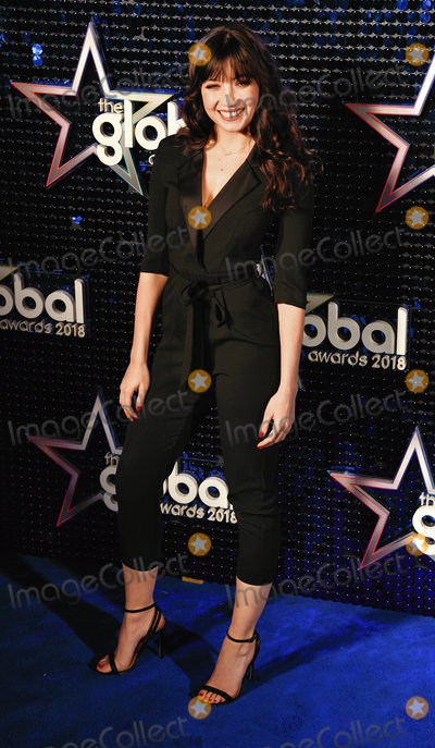 Daisy Lowe_ Photo - London UK Daisy Lowe at The Global Awards held at Eventim Apollo Hamersmith London on Thursday 1 March 2018 Ref LMK392-J1601-020318Vivienne VincentLandmark Media WWWLMKMEDIACOM