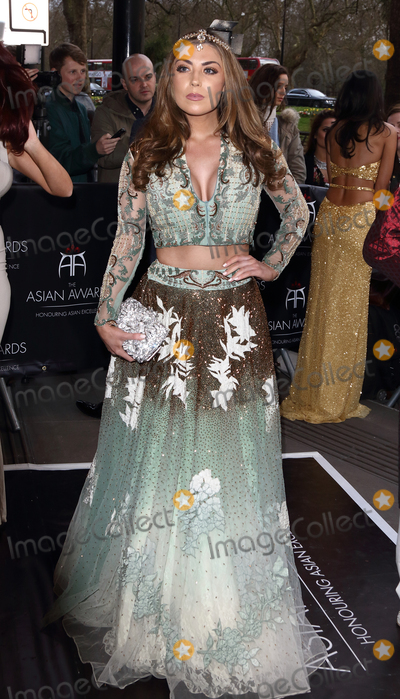 Abi Clarke Photo - London UK Abi Clarke at the Asian Awards 2016 Grosvenor House Hotel Park Lane 8th April 2016 Ref LMK73-60215-090416Keith MayhewLandmark Media WWWLMKMEDIACOM