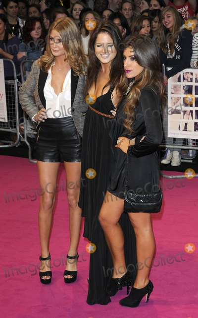Alexandra Felstead Photo - London UK Millie Mackintosh Alexandra Felstead and Gabriella Ellis at the European premiere of the film One Day held at the Vue Cinema Westfield Shopping Centre London 23rd August 2011Can NguyenLandmark Media