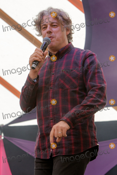 Alan Davies Photo - Southwold Suffolk  Comedian Alan Davies performs in the Comedy Arena on the second day of the 2018 Latitude Festival  at Henham Park near Southwold Suffolk 14th July 2018Ref LMK73-J2315-160718Keith MayhewLandmark MediaWWWLMKMEDIACOM