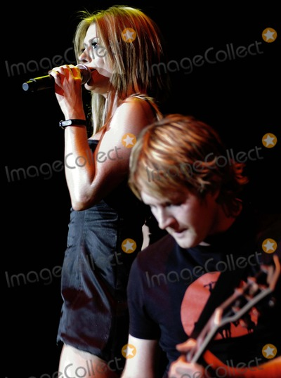 Natalie Bassingthwaighte Photo - London UK  Natalie Bassingthwaighte and  Danny Spencer  of the Australian techno-pop group Rogue Traders in concert at the Wembley Arena  26th May 2007  Simon CritchleyLandmark Media