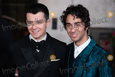 Alex Wolff Photo - London UK Alex Wolff and Asa Butterfield  at  the EE British Academy Film Awards 2020 after party dinner -arrivals  at The Grosvenor Hotel on February 02 2020 in London EnglandRef  LMK399 -J6089-030220Robin Pope  Landmark Media WWWLMKMEDIACOM