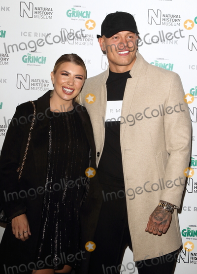Alex Bowen Photo - London UK Alex Bowen and Olivia Buckland at Natural History Museum Ice Rink Launch Party at the Natural History Museum Cromwell Road London on Wednesday 24 October 2018Ref LMK73-J2854-251018Keith MayhewLandmark MediaWWWLMKMEDIACOM