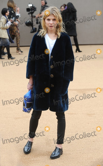 Clemence Posey Photo - London UK Clemence Posey at Burberry Prorsum   AutumnWinter 2015 Fashion Show during London Fashion Week 23rd February 2015Ref LMK200-50543-230215Landmark MediaWWWLMKMEDIACOM