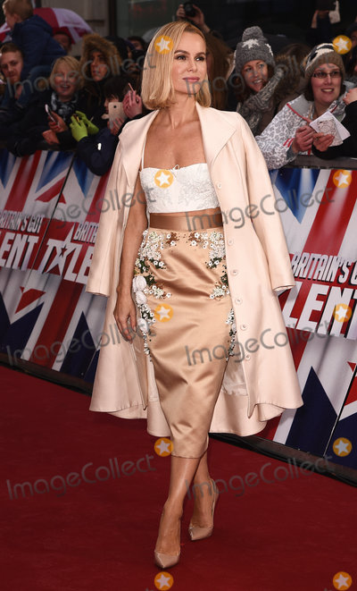 Amanda Holden Photo - London UK Amanda Holden at Britains Got Talent photocall held at The London Palladium Argyll Street London on Sunday 29 January 2017Ref LMK392-62709-290117Vivienne VincentLandmark Media WWWLMKMEDIACOM
