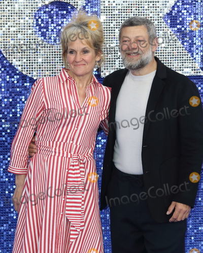 Andy Serkis Photo - London UK Andy Serkis and Lorraine Ashbourne at UK Premiere of Rocketman at the Odeon Luxe Leicester Square London on May 20th 2019 Ref LMK73-J4907-210519Keith MayhewLandmark MediaWWWLMKMEDIACOM Kelly Osbourne and Jimmy Q