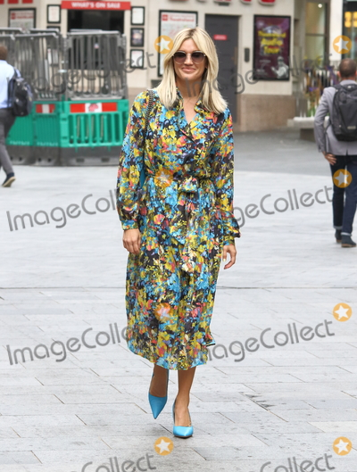 Ashley Roberts Photo - London UK  Ashley Roberts  at Celebrities at the Global Radio Studios Leicester Square UK 9th September 2020RefLMK73-S3110-100920Keith MayhewLandmark Media WWWLMKMEDIACOM