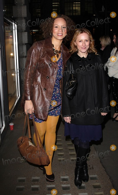 Nicola Stephenson Photo - London UK Angela Griffin and Nicola Stephenson at the Bobbi Brown Makeup Manual book launch party held at Getty Images Gallery in London 29th January 2009Keith MayhewLandmark Media