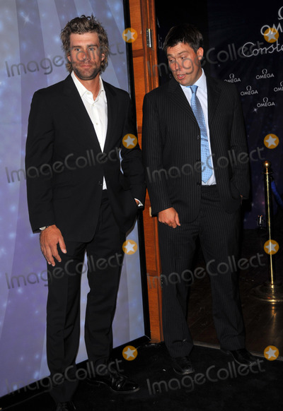 Andrew Simpson Photo - London UK  Iain Percy and  Andrew Simpson at the Omega Constellation 2009 launch party at Almada15th October 2009Brian JordanLandmark Media