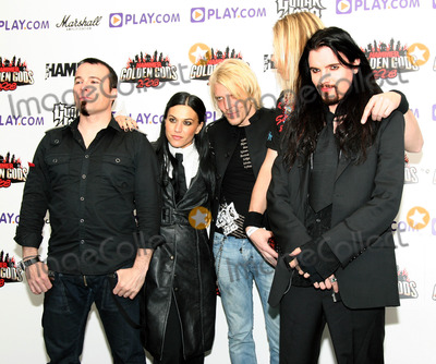 Apocalyptica Photo - London UK Cristina Scabbia of Lacuna Coil and Apocalyptica at the Metal Hammer Golden Gods Awards - Arrivals held at the Indigo O2 in north Greenwich 16th June 2008Taya UddinLandmark Media