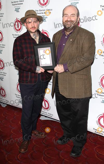 Jamie Sal Photo - LondonUK  Jamie Lloyd and Mark Shenton at The Critics Circle Theatre Awards held at The Prince of Wales Theatre London11 February 2020Ref LMK73-MB6001-120220Keith MayhewLandmark Media WWWLMKMEDIACOM