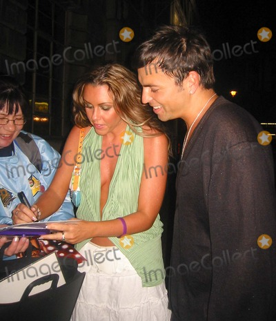 Andy Scott-Lee Photo - London Michelle Heaton and Andy Scott-Lee at the Eve club in London for the Teenage Cancer Trust concert afterparty1 April 2005ZakLandmark Media
