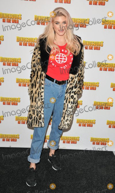 Ashley James Photo - London UK  130218Ashley James at the launch of Dinosaurs In The Wild immersive experience VIP preview Greenwich Peninsula London13 February 2018Ref LMK315-MB1150-150218Can NguyenLandmark MediaWWWLMKMEDIACOM