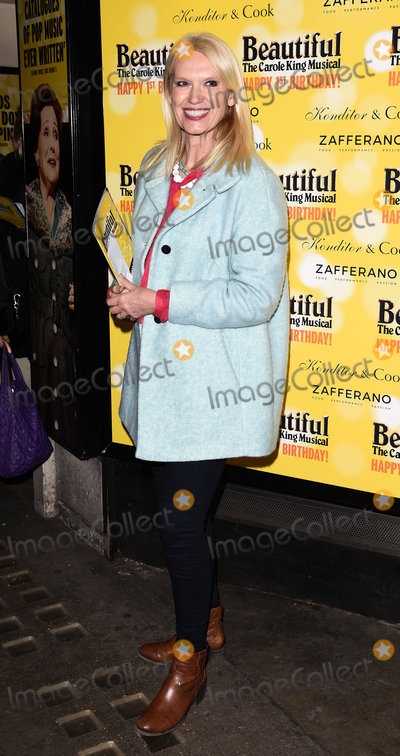 Anneka Rice Photo - London UK  Anneka Rice  at  Beautiful - The Carole King Musical first birthday celebration at The Aldwych Theatre The Aldwych London  23 February 2016 Ref LMK392-60242-240216Vivienne VincentLandmark Media WWWLMKMEDIACOM