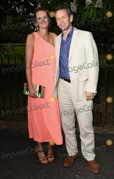 Alexander Armstrong Photo - London UK  Alexander Armstrong and wife Hannah Bronwen Snow at The Serpentine Gallery Summer Party at Kensington Gardens London 6th July 2016 Ref LMK392-60819-070716Vivienne VincentLandmark Media WWWLMKMEDIACOM