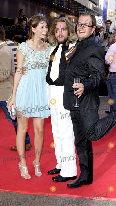 Alan Carr Photo - London Mischa Barton Alan Carr and ustin Lee Collins at the European Premiere of  Pirates of the Caribbean Dead Mans Chest held at the Odeon Leicester Square03 July 2006Keith MayhewLandmark Media