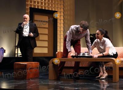 The Cast Photo - London UK Hollywood actor John Malkovich leads the cast of Bitter Wheat at the Garrick Theatre London Also starring Doon Mackichan Ioanna Kimbook and Alexander Arnold Ref LMK73-J5052-140619Keith MayhewLandmark Media WWWLMKMEDIACOM