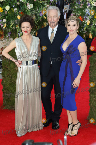 Alan Rickman Photo - London UK Helen McCrory Alan Rickman and Kate Winslet at UK Premiere of A Little Chaos at the Odeon Kensington London on April 13 2015 in London England Ref LMK73-50938-140515Keith MayhewLandmark Media WWWLMKMEDIACOM