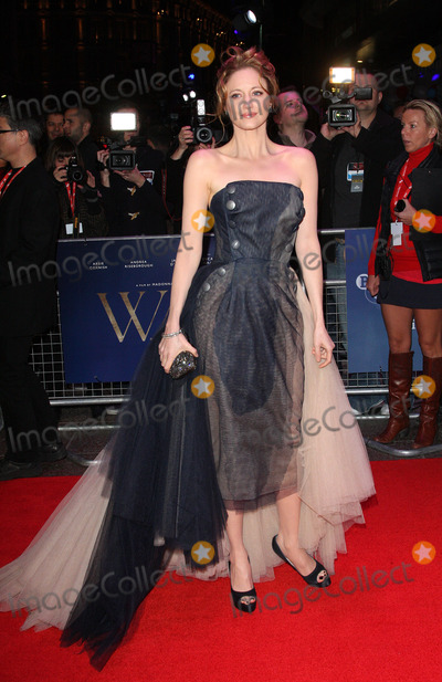 Andrea Risborough Photo - London UK    Andrea Risborough at the  London Film Festival Gala Screening of  WE  at the Empire Leicester Square London  23rd October 2011