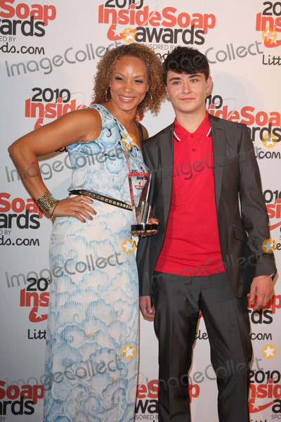Angela Griffin Photo - London UK Angela Griffin and William Rush at the Inside Soap Awards 2010 held at Shaka Zulu in Camden London 27th September 2010Keith MayhewLandmark Media