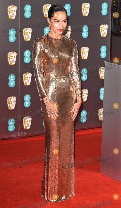 Zoe Kravitz Photo - London UK Zoe Kravitz at the 73rd British Academy Film Awards held at The Royal Albert Hall South Kennsington on Sunday 2 February 2020 Ref LMK392 -J6086-030220Vivienne VincentLandmark Media WWWLMKMEDIACOM