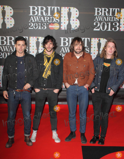 The Vaccines Photo - London UK The Vaccines    at    the 2013 Brit Awards held at the O2 Arena in North Greenwich21 February 2012Keith MayhewLandmark Media