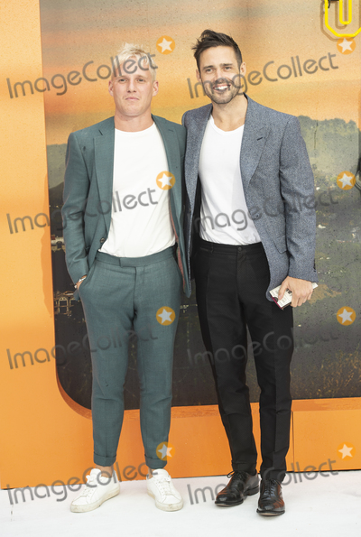 Jamie Laing Photo - London England  Jamie Laing and Spencer Matthews at  the UK Premiere of Once Upon a Time in Hollywood Odeon Luxe Leicester Square London England 30th July 2019Ref LMK386-J5279-310719Gary MitchellLandmark MediaWWWLMKMEDIACOM