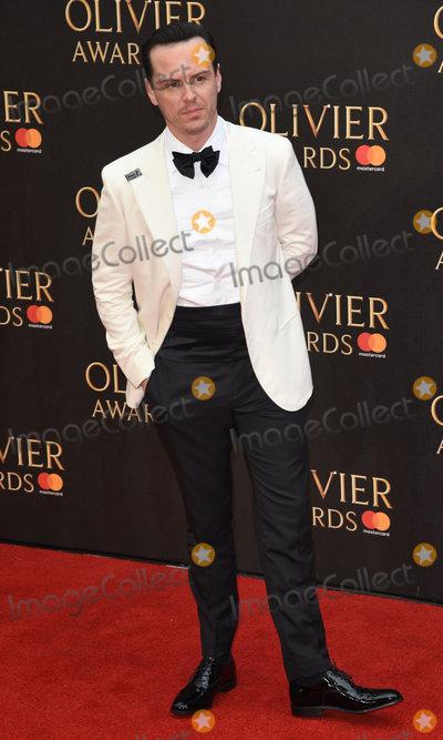 Andrew Scott Photo - London UK Andrew Scott at The Olivier Awards 2018 held at The Royal Albert Hall Kensington Gore South Kensington London on Sunday 8 April 2018Ref LMK392-J1860-090418Vivienne VincentLandmark Media WWWLMKMEDIACOM